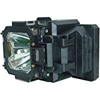 AuraBeam Economy Sanyo PLC-XT21 Projector Replacement Lamp with Housing