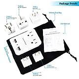 2000 W Travel Adapter Kit w/ 2 USB Ports