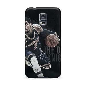 JacquieWasylnuk Samsung Galaxy S5 Excellent Hard Phone Cases Unique Design Colorful Kyrie Irving Series [oVC81LDDj]