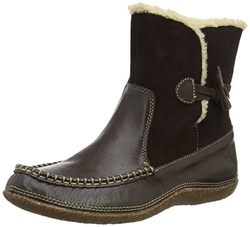 Hush Puppies Noy Mindset, Women's Mocassins Boots Brown (Dk Brown Leather)
