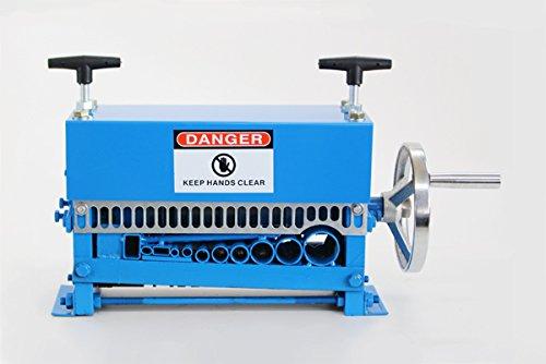 手動 ワイヤーストリッパー ケーブルストリッパー ケーブル皮むき機 皮剥き機 剥線機 1.5mm~35mm ブルー B00QG15H9G