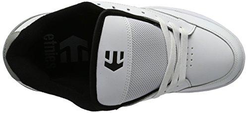 Etnies Swivel, Color: White/Grey/Black, Size: 37 EU (5 US / 4 UK)