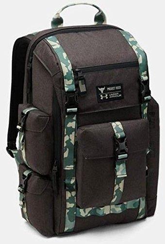 UA x Project Rock US DNA Regiment Backpack Black/Camo バックパック リュックサック アンダーアーマー カモフラージュ [並行輸入品] B07BFPWTVQ