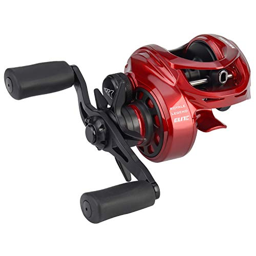KastKing Royale Legend Elite Baitcasting Reel, Palm Perfect Compact Design, Ergo-Twist Opening, Swing Wing Side Cover, 4 Coded Gear Ratios, 11+1 BB, Magnetic Braking System Fishing Reel