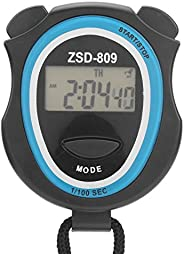 Digital Stopwatch, Multi‑Function 0.1s Electronic Digital Sport Stopwatch Timer with Alarm/Calendar/Timer Func