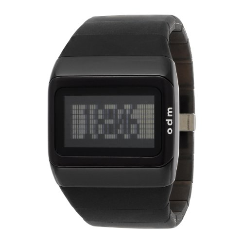 o.d.m. Men's SDD99B-1 Link Series Black Programmable Digital Watch