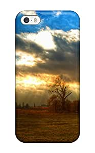 Scratch-proof Protection Case Cover For iphone 4s/ Hot Sunshine Through The Clouds Phone Case