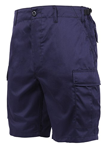 Navy Blue Military Combat BDU Shorts