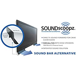 SOUNDscoopz - The sound bar alternative