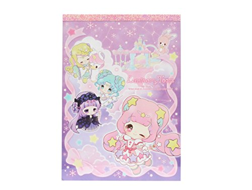 Bandai Luminari Tears Constellation Fairy Deluxe Die-cut Memo Pad Limited Edition Made in -