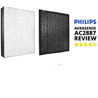 Filter Set Philips AC2887 NanoProtect 2000 Series True HEPA FY 2422+ CARBON FY2420 Set Filter of Air Purifier