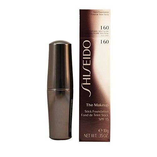 Shiseido The Makeup Stick Foundation SPF15, I60 Natural Deep Ivory, 0.35 Ounce