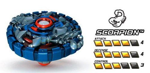 - Magnext Battle Strikers Turbo Tops #29465 Scorpion