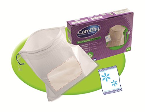 Carebag Travel Kit   3 Vomit Bags   3 Refreshing Wipes