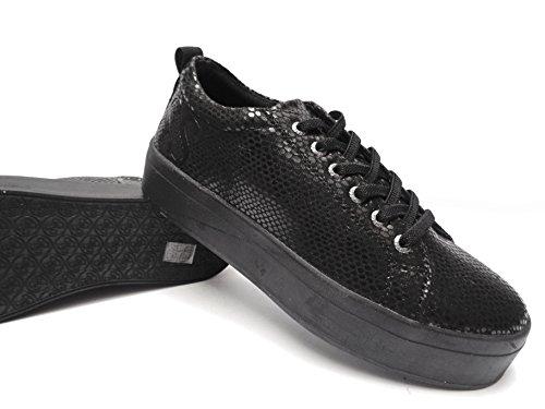Stampata Pelle Flfhe3fap12 Cm Platform Da Guess 3n Donna Sneakers IqX41