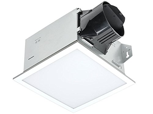 Delta BreezIntegrity ITG100ELED 100 CFM Exhaust Bath Fan/Dimmable Edge-lit LED Light