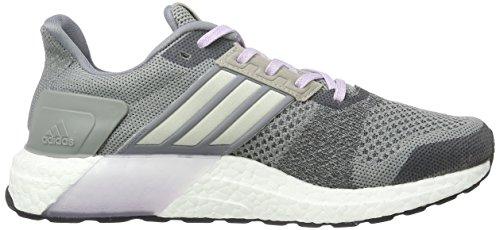 ... adidas Damen Ultra Boost St W Laufschuhe Grau / Weiß / Schwarz (grau /  Blatiz