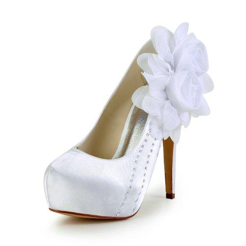 femme mariée de Blanc Escarpins mariage JIA chaussures 2018 Wedding JIA pour qwWIXzU