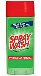 (3 Pack Value Bundle) REC81996 Spray N' Wash Pre-Treat Stain Stick, White, 3 oz
