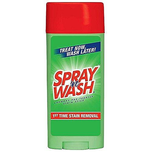 (3 Pack Value Bundle) REC81996 Spray N' Wash Pre-Treat Stain Stick, White, 3 oz