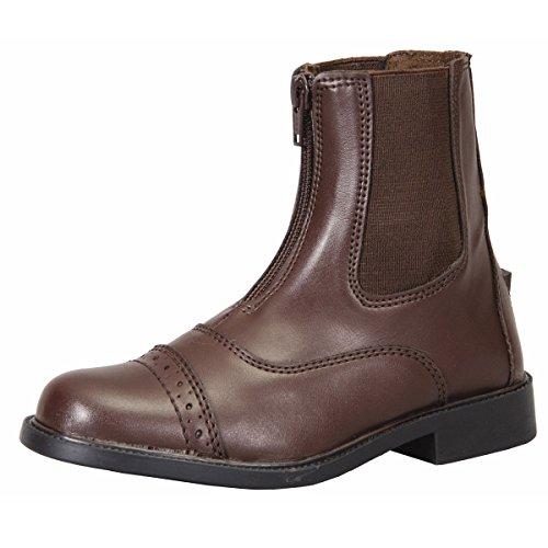 TuffRider Kid's Starter Front Zip Paddock Boots