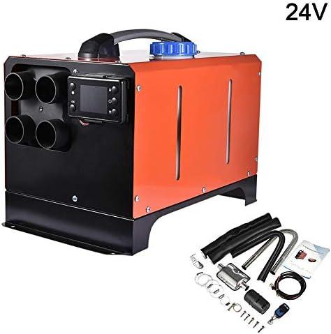 Luft Diesel Kraftstoff Heizung 24V 5000W Diesel Luft Heizung Set Elektro Heizung Kühlung LCD Monitor Thermostat für Wohnmobile, Wohnmobilanhänger, LKWs, Boote
