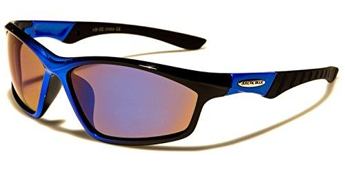 de SUNGLASSES Azul para Negro hombre Gafas SDK sol q7gx4w8E7T