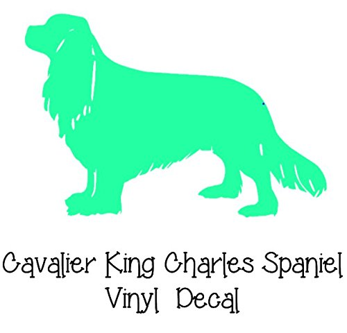 Cavalier King Charles Spaniel Decal - Dog Breed Vinyl Decal - Select Your Size - All Purebred Dog Breeds Available