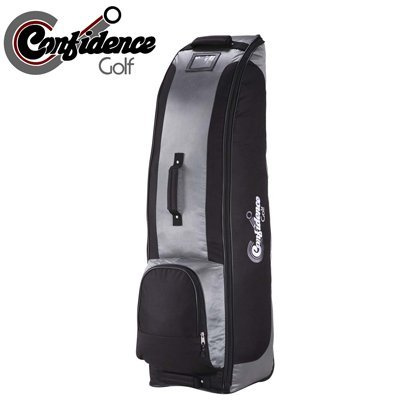 Confidence Golf Bag Travel Cover SILVER with wheels [Misc.]