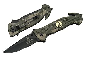 """Amazon.com : R-80-CA. Trigger Assist 8"""" Tactical Knife"""