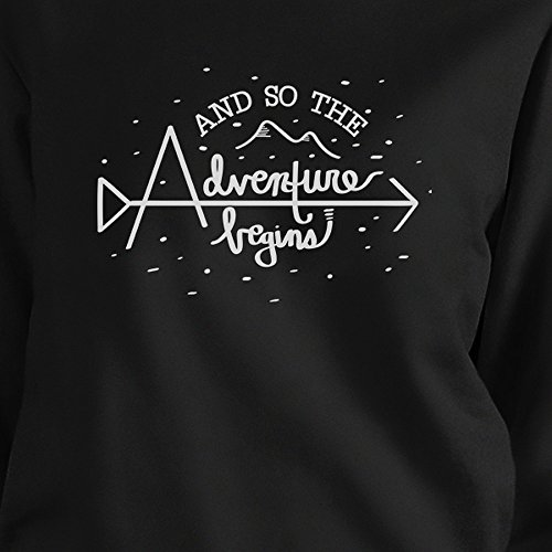 Longues Adventure Black Printing Sweat Femme So Taille Unique Begins 365 shirt The And Manches qRHwIPI