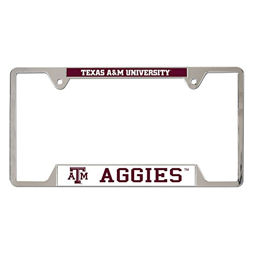 NCAA Texas A&M University Metal License Plate Frame