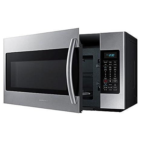 Amazon.com: Samsung ME18H704SFS 1.8 pies cuadrados. Horno ...