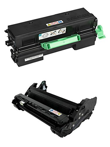Ricoh 407319 Print Cartridge and 407324 Photoconductor Unit for SP 4510DN, 4510SF ()