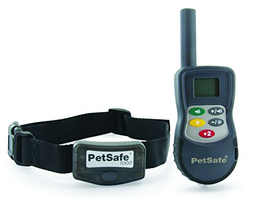 PetSafe Elite Big Dog Remote Trainer for Medium and Large Dogs Over 40 lb. with Tone and Static Stimulation, Waterproof, Up to 1000 Yards of Range, Electronic K-9 E-Collar ()