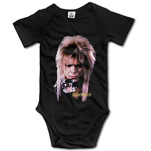 Eppedtul Labyrinth Jareth Goblin King 0M-2t Infant Baby Short-Sleeve Playsuits Onesie Black 0-3M]()
