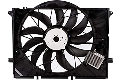 BOXI Engine Cooling Fan Assembly For Mercedes Benz W220 CL55 CL600 CL65 S600 SL63 SL600 S55 SL55 SL63 SL65 AMG SL55 AMG 2205000293,2205000193,