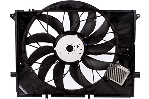 (BOXI Engine Cooling Fan Assembly For Mercedes Benz W220 CL55 CL600 CL65 S600 SL63 SL600 S55 SL55 SL63 SL65 AMG SL55 AMG)