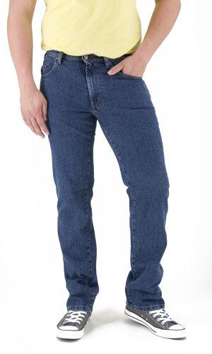 Revils Jeans Hose 302 Classic Stretch, V-24/2, indigo stone washed, W58 L30