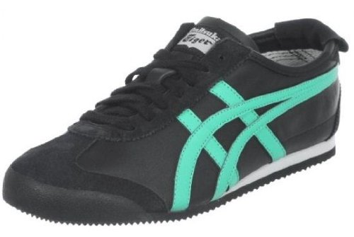 Onitsuka Tiger Mexico 66 Black Mint Leaf New Mens Trainers Shoes Boots-8