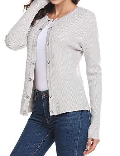 Knit Breasted Giacca Autunno Single Outerwear Moda Fit Maglioni Lunghe Ragazza Marine Primaverile Giacche Maniche Cappotto Maglia Monocromo A Elegante Donna Slim Casual r0qXBPrx