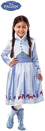 Frozen - Disfraz de princesa Anna Deluxe para niña, infantil 3-4 ...