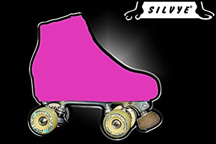 Para patines para patinaje artistico Gamma Rosa, magenta