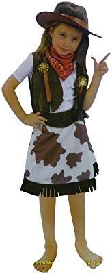 Disfraz de Vaquera Cowgirl (4 a 6) (COW-02): Amazon.es: Juguetes y ...