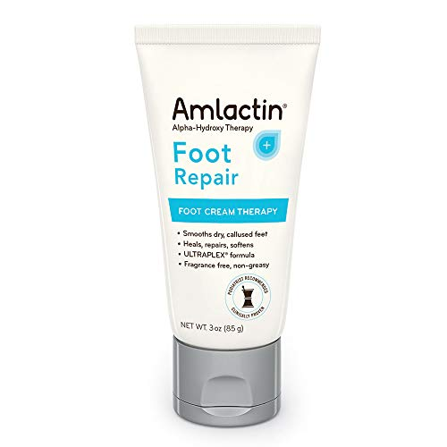 AmLactin Foot Repair Foot Cream Therapy | Smooths Rough, Dry