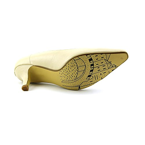 Bella Vita Donna Wow Pump Bone Kidskin