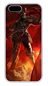 3D Angry Soldiers Polycarbonate Plastic iPhone 5S and iPhone 5 Case Cover White