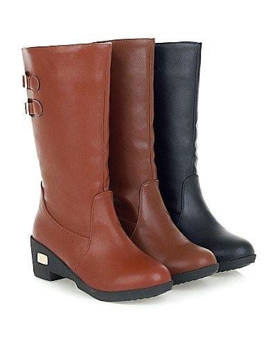 Zapatos De Uk5 Y La Xzz Comfort Mujer Eu38 us7 Trabajo Uk Oficina Azul Cn38 Plataforma Exterior 5 us9 Semicuero Black A Eu40 Botas Yellow 5 Cn41 Uk7 Moda negro Casual 5dwq1xqAP