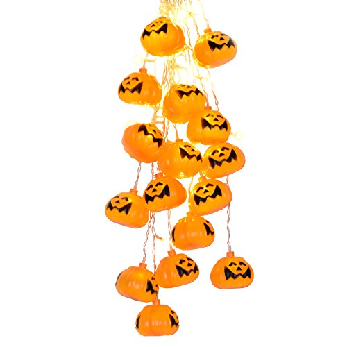 Outdoor Lighted Jack O Lanterns - 9