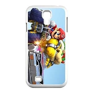 Samsung Galaxy S4 9500 Cell Phone Case White Mario Kart 8 SLI_540098